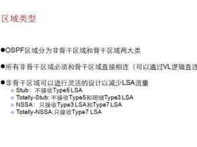 OSPF特殊区域