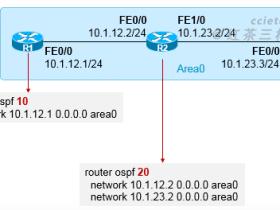 OSPF进程号的意义及多进程OSPF
