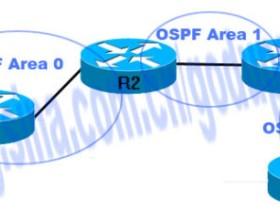OSPF跨区域实验